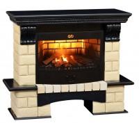 Каминный комплект Tango Premium Style 3D FOG 25 (венге) с электрокамином с 3D эффектом живого огня Alex Bauman 3D Fog 25 (без обогрева)