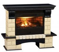 Каминный комплект Tango Premium Style универсальный 3D FOG 24 (венге) с электрокамином с 3D эффектом живого огня Alex Bauman 3D Fog