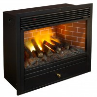Электрокамин NOVARA 26 NEW 3D RealFlame с реалистичным эффектом живого огня 3D и звуком треска дров