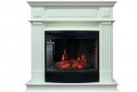 Каминокомлект Atlanta (слоновая кость) с очагом Royal Flame Dioramic 25 LED Display FX (со звуком) с пультом ДУ