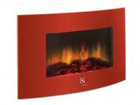 Электрокамин настенный Electrolux EFP/W-1200URLS красный