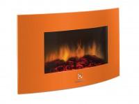 Электрокамин настенный Electrolux EFP/W-1200URLS оранжевый