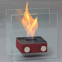 Компактный биокамин Silver Smith Nano 3 PREMIUM Red