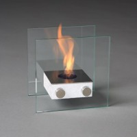 Компактный биокамин Silver Smith Nano 3 PREMIUM White